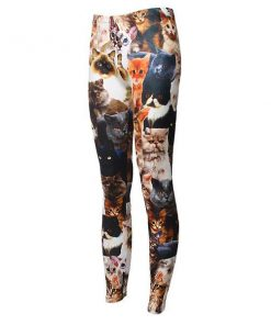 3D Cat Leggings