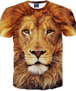 Awesome Lion 3D T-shirt