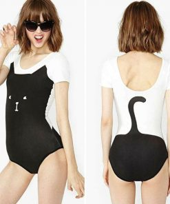 Black Cat Bodysuit