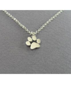 Charming Cat Paw Pendant Necklace