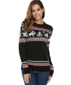 Christmas Deer Winter Sweater