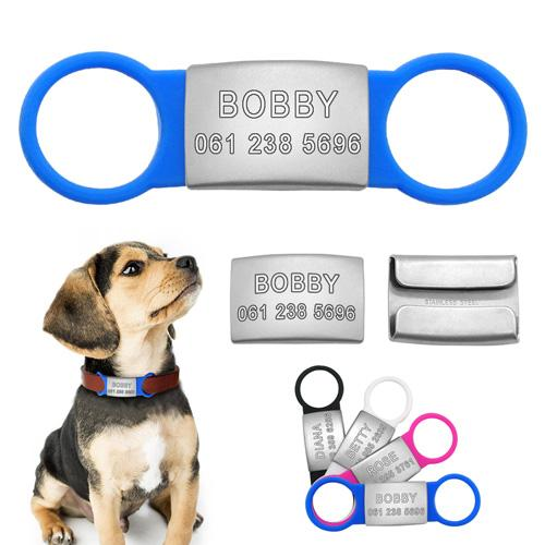 Customized Engraved Pet Nameplate Tags