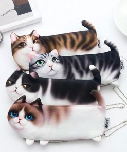 Adorable 3D Cat Wallet