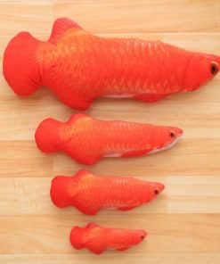 Cute Simulation Fish Playing Catnip Toy