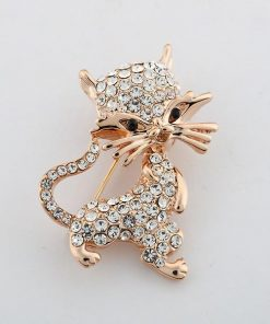 Charming Cat Brooch
