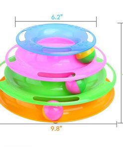Funny Interactive Play Disc Cat Toys