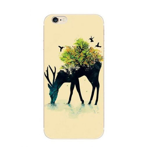 5 Colorful Deer  Phone Cases for Iphone 6 and 6s