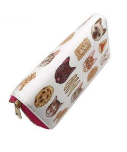Cat Lover Long Wallet