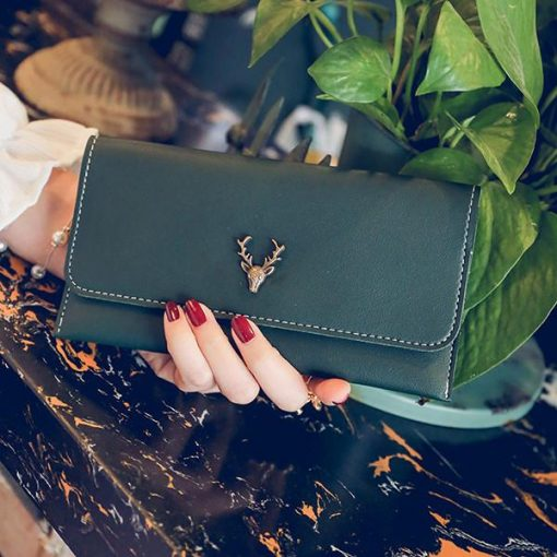 Classic Leather Deer Wallet