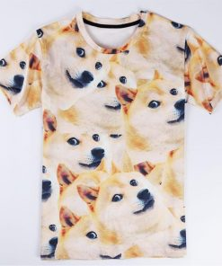 3D Awesome Dog T-shirt